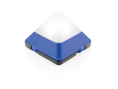Trekantet mini lanterne, blå