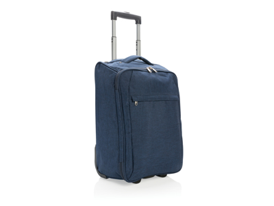 To tonet foldbar trolley, blå