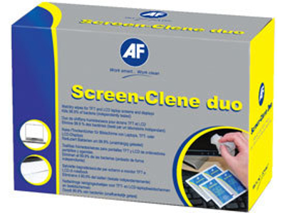Renseservietter til skærm våd og tør (AF) 20 sæt