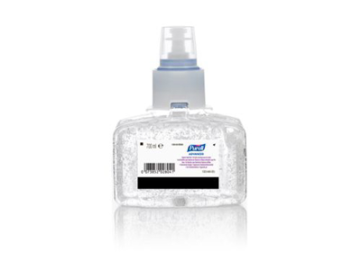 Desinfektion Purell gel refill 700 ml.