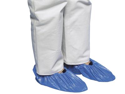 Skoovertræk 41 cm blå 100 stk