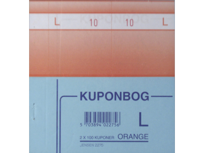 Kuponbog Orange