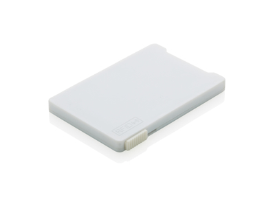 Multi kortholder med RFID anti skimming, hvid
