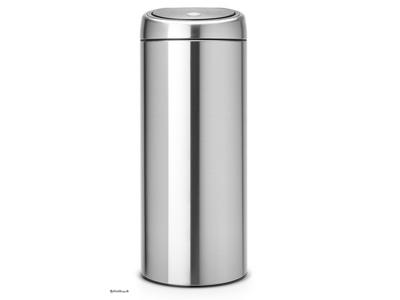 Affaldsspand Brabantia touch bin 30 liter matt stell
