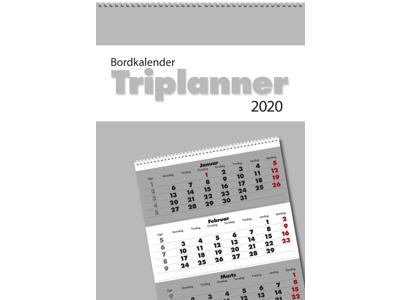 Bordkalender, Triplanner, FSC Mix 20131020