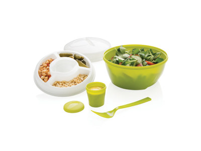 "Salat ""to go"" boks, grøn"