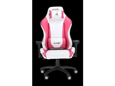 GEAR4U Gamerstol Dominator Hvid/Pink
