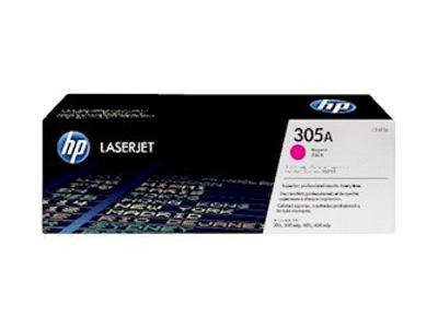 HP 305A LASERTONER CE413A RØD