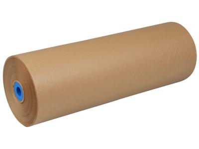 Indpakningspapir 55cmx250m genbrug brun 50gr