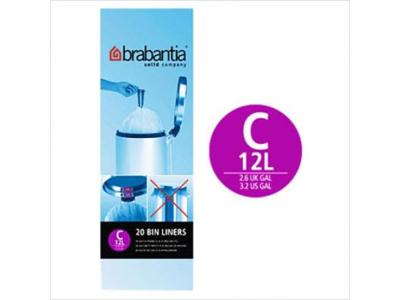 Affaldspose Brabantia model C 10-12 liter 40 stk