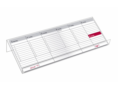 Stativ acryl t/1320 bordkalender, 92258700