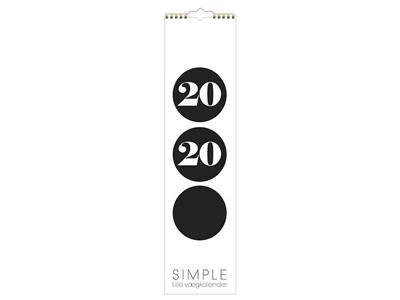 Vægkalender, Simple, FSC Mix 20066450