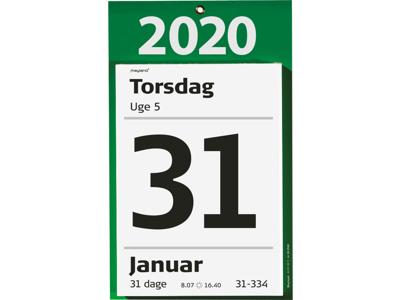 Kæmpeafrivningskalender med bagsidetekst, FSC Mix 20254000