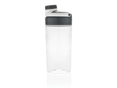 Leakproof flaske med trådløs øretelefoner, hvid
