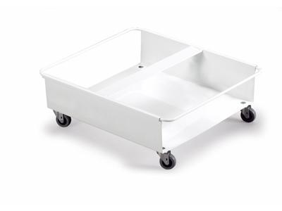 Vogn Durabin Duo 60L. hvid m/4 hjul