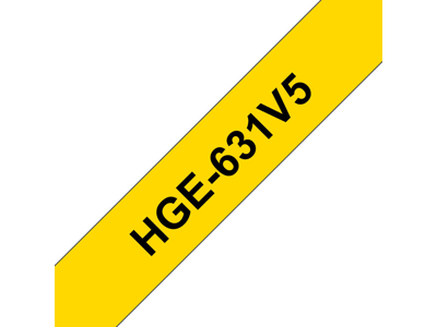 Labeltape Brother HGe 12mm