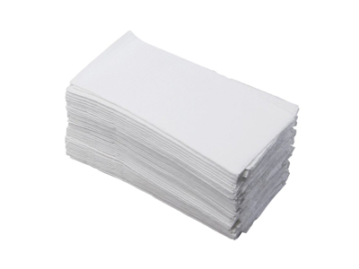 Servietter 33x33 hvid 1/8 foldet 500 stk. 1-lags