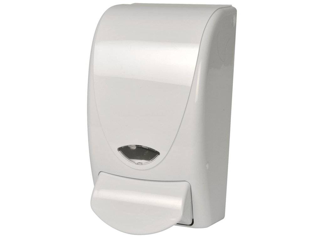 Dispenser t/sæbe refill 1000 ml. Hvid