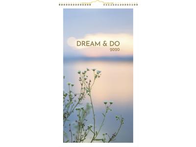Vægkalender, Dream & Do, FSC Mix 20066530