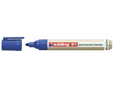 Marker Edding 21 Ecoline blå