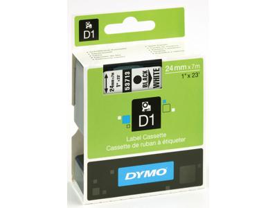 DYMO TAPE SORT/HVID 24MM 53713