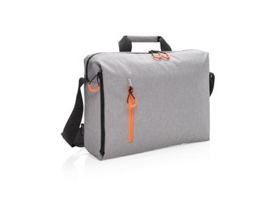 """Lima RFID 15.6"""" PVC fri laptop taske, grå"""