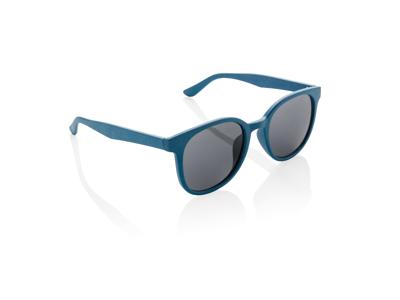Solbriller af hvedestrå, blå