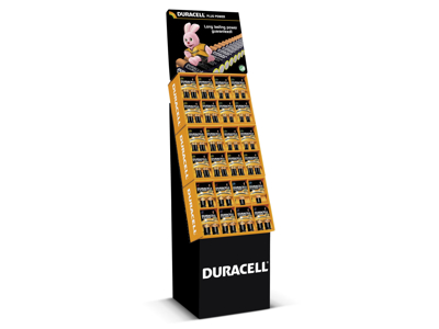 Duracell Plus Power display