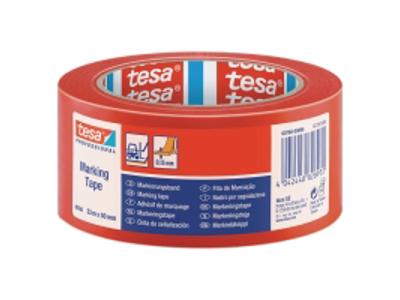 Tape pakke PP acryl 853 50 mm x 66 meter rød