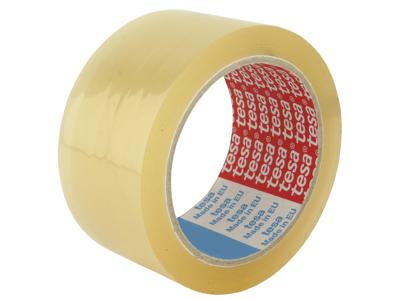Tape pakke Tesa PP hotmelt 4280 48 mm x 66 metre klar