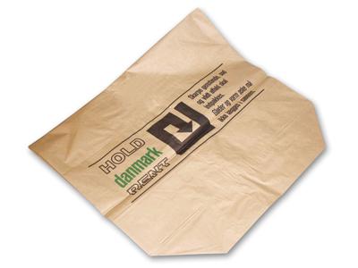Papirsæk 700/250x950mm brun