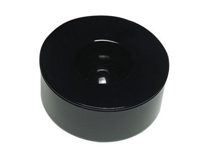 Askebæger Kulan sort Ø125mm