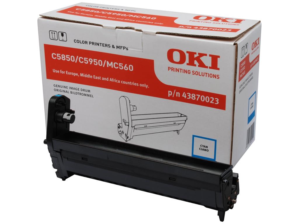OKI TROMLE C5850/5950 CYAN