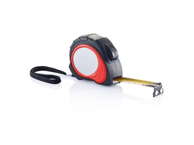 Tool Pro målebånd - 5m/19mm, rød