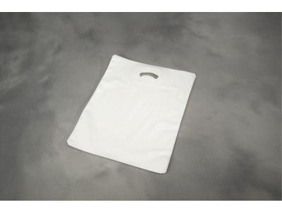 Bærepose 420X450/50mm hvid 28my 500 stk Coex