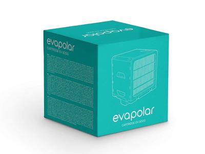 Aircooler filter til evaSMART 1000 timer