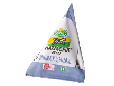 Minimælk øko 0,5% 20 ml 100 stk