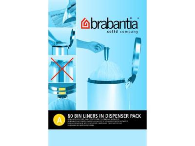 Affaldspose Brabantia model A 3 liter 60 stk