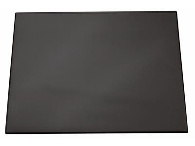 Skriveunderlag 49x65 sort m/dækplade