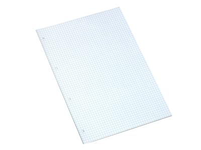 Arbejdsblade A4 Hvid Kvadreret hullet 500 ark