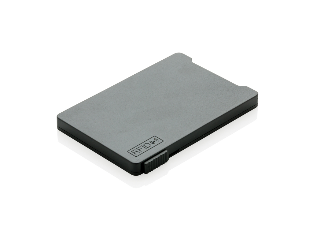 Multi kortholder med RFID anti skimming, sort