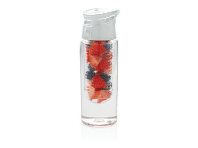 Låsbar dispenser flaske, hvid