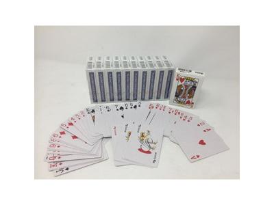 Spillekort 56 kort + 4 joker