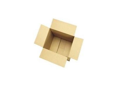 Bølgepapkasse 420x420x280 mm 4 mm