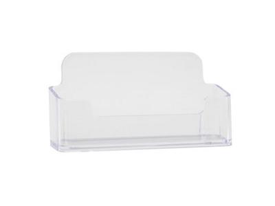 Visitkortholder bord klar akryl t/50 kort