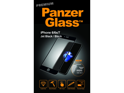 PanzerGlass iPhone 6/6S/7/8 Sort