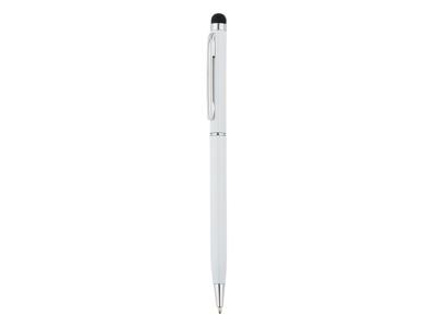 Tynd stylus pen i metal, hvid