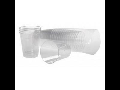 Plastglas hård  5 cl 25 stk.