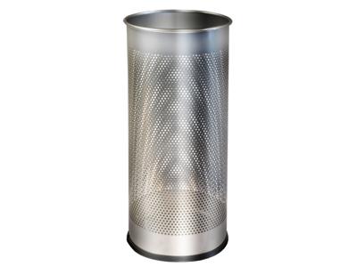 Paraplystand Twin Metal sølv 28,5 Liter