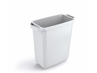 Affaldspand Durabin 60L. hvid rektangulær